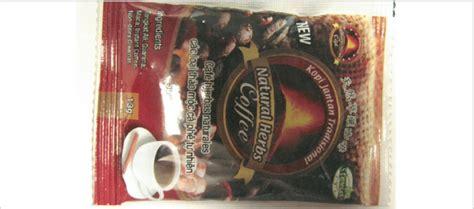 Kopi Jantan Plus Asli Kopi Herbal Kopi Luwak Kopi Stamina Cleng fda herb coffee found to contain undeclared the clinical advisor
