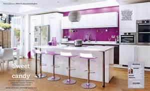Kitchen Cabinets Painting طراحی داخلی خانه و آشپزخانه به رنگ بنفش