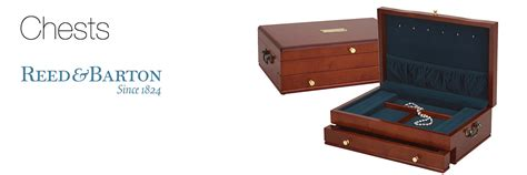 Reed And Barton Handcrafted Chests - reed barton jewelry chests shannon