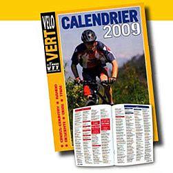 Calendrier Mensuel 2016 Québec Bicycle Velo Vert Horaire