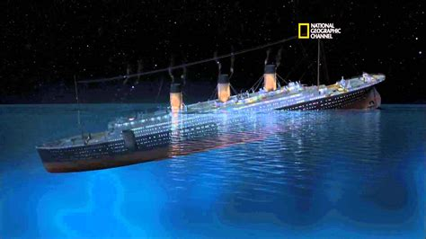 sinking of the rms titanic rms titanic sinking simulation 101yr tribute youtube