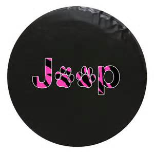 Jeep Paw Print Tire Cover Jeep Animal Paw Print Vinyl Spare Tire Cover 69 99