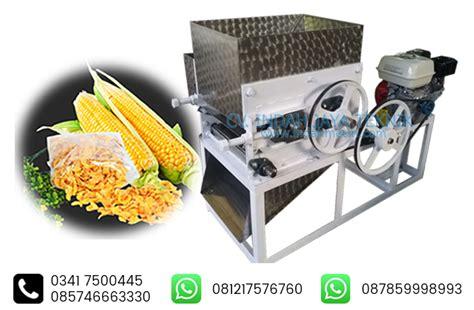 mesin pemipih emping jagung indah mesin