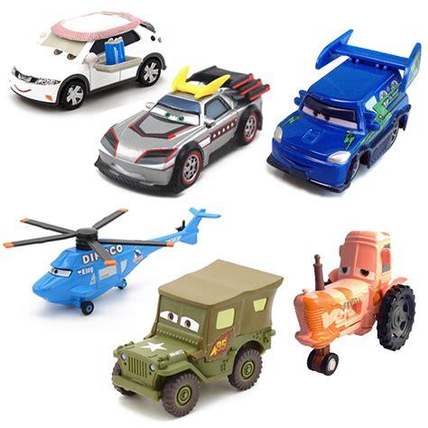 disney pixar cars the toys forums disney pixar cars 14 styles metal car sarge lizzie 1 55