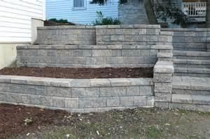 Retaining Wall Stairs Design Portfolio Rosendo Landscaping