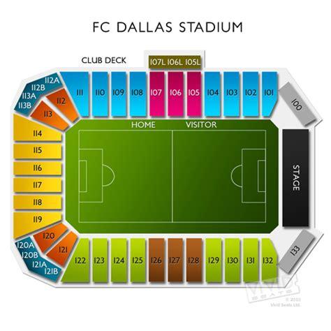 Toyota Seating Toyota Stadium Tickets Toyota Stadium Seating Chart