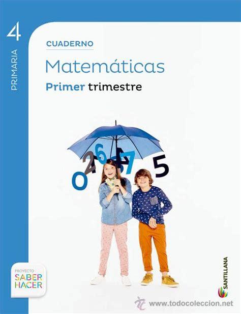 libro proyecto saber hacer lengua matem 225 ticas santillana proyecto saber hacer 4 comprar libros antiguos de texto y escuela en