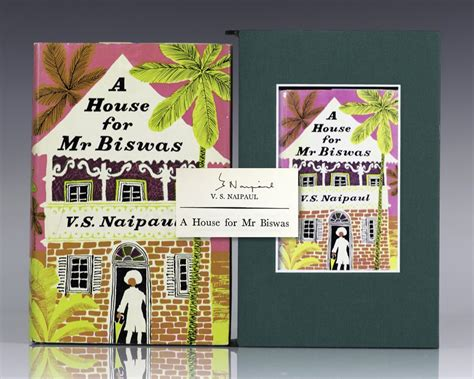 a house for mr biswas house for mr biswas v s naipaul first edition signed rare book