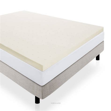 memory foam bed topper things to help you get a good night s sleep examined