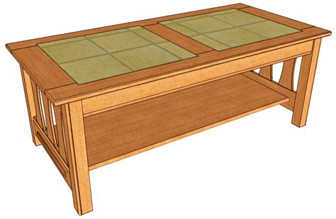 Free Coffee Table With Drawers Woodworking Plans Coffee Free Coffee Table Plans