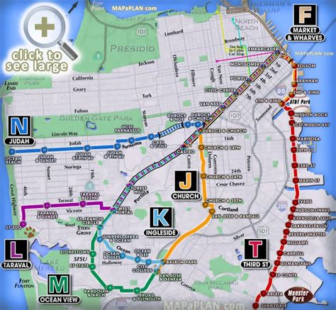 san francisco map civic center san francisco maps top tourist attractions free