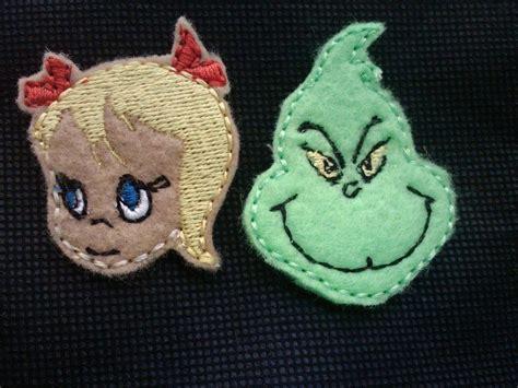 felt grinch pattern 104 best machine embroidery designs images on pinterest