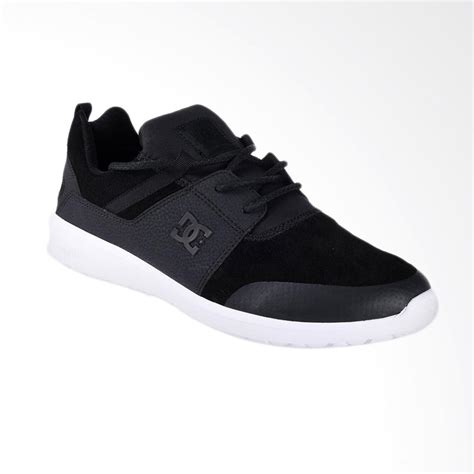 Harga Dc Shoes Black jual dc heathrow presti m shoe sepatu sneakers pria