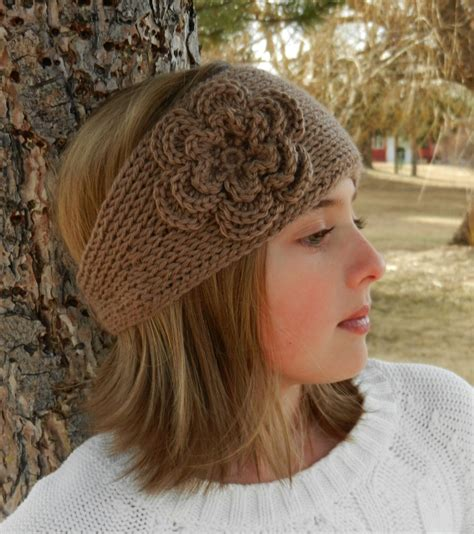 pattern headband tunisian knit look crochet headband pattern with