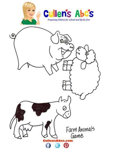 animal pattern games farm animal game online preschool and children s videos