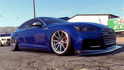 Build Audi S5 by Need For Speed Payback Low Audi S5 Race Build Youtube