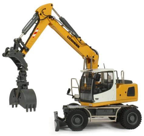Alat Berat Grab miniature construction world liebherr a920 wheeled excavator