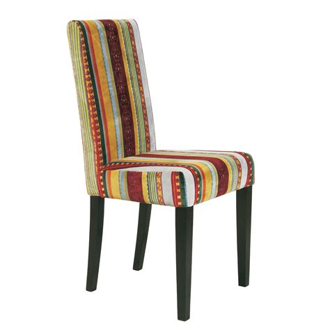Striped Dining Room Chairs Design Chair Quot Britain Quot Striped Upholstered Dining Room Kitchen Ebay