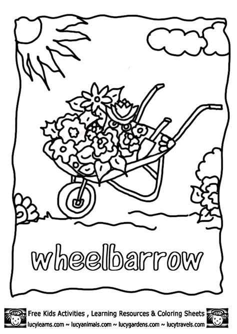 Vegetable Garden Coloring Pages Coloring Home Vegetable Garden Coloring Pages