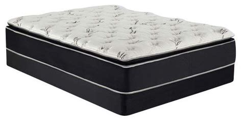 Bamboo Pillow Top Mattress by Acme Cicely 14 Black Eastern King Bamboo Pillow Top