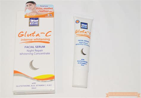Gluta C Serum gluta c whitening serum review my cup of tea