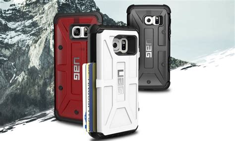 Uag Samsung Galaxy S7 Trooper Card Black Black get your uag cases for the lg g5 and galaxy s7
