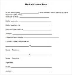 consent form template free consent form 6 free in pdf