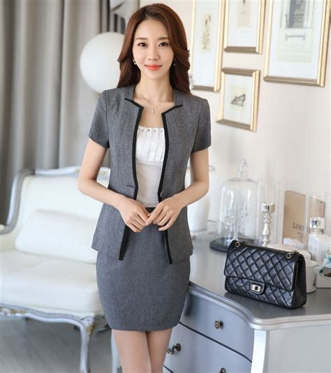 styles of work suites new arrival 2016 summer fashion ol styles work suits with