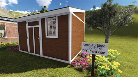lean  shed plan
