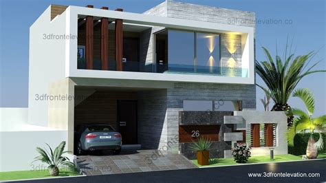 home design for 8 marla 3d front elevation 5 marla 10 marla house plan layout map 3d front elevation lahore