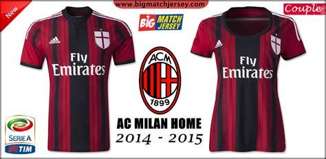 Jersey Go Ac Milan Home june 2014 big match jersey toko grosir dan eceran