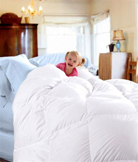 down comforter blanket cuddledown 233tc down comforter queen blanket white buy