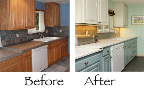 do your kitchen cabinets look tired the purple painted lady painting kitchen cabinets before and after 2 old kitchen