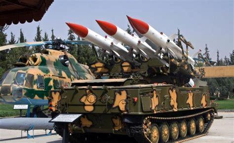 Anti Air anti aircraft missiles guns and t 72 tanks of syrian