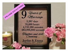 Wedding Anniversary Gift Nine Years by Anniversary In Heaven Poems Reaches The Farthest