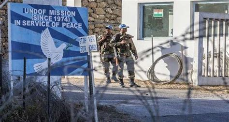 un report reveals how israel is coordinating with isis united nations disengagement observer force undof