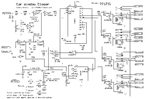auto window closer wiring diagram free wiring