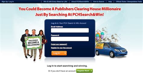 pch login pch com enter sweepstakes here - Pch Login Page