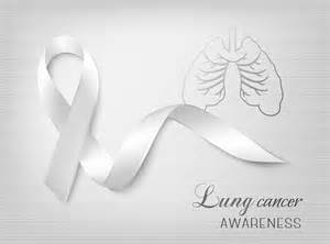 what color ribbon is for lung cancer what you should about for lung cancer awareness month