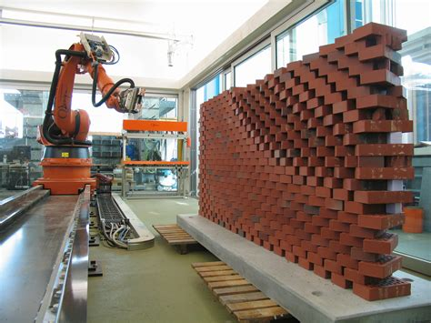 robotic wall new robots will revolutionise the built environment