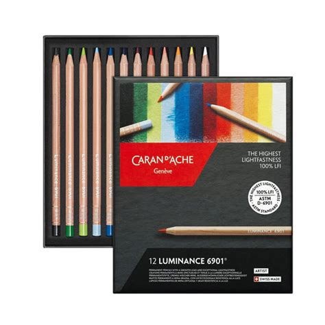 caran d ache colored pencils luminance 6901 colored pencil sets caran d ache array