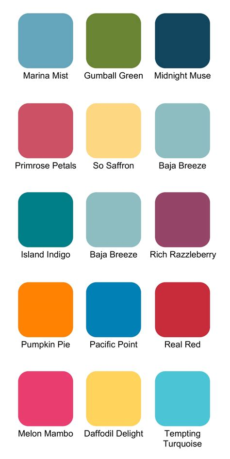 colour combos stin up color combinations for summer ink it up with card ideas