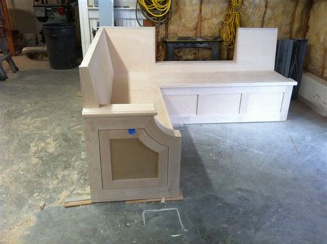 how to build a kitchen bench seat kitchen bench seat finish carpentry contractor talk