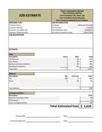handyman business estimate form handyman business estimate form proposals and business