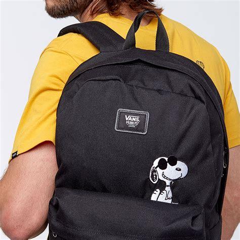 Original Vans Mn Skool Ii Back Peanuts Sneakers backpack vans x peanuts skool ii backpack white vans au190 www rachelsr