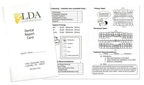 dental report card children s dentist in louisville co