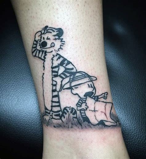 calvin and hobbes tattoo 70 calvin and hobbes designs for comic ideas