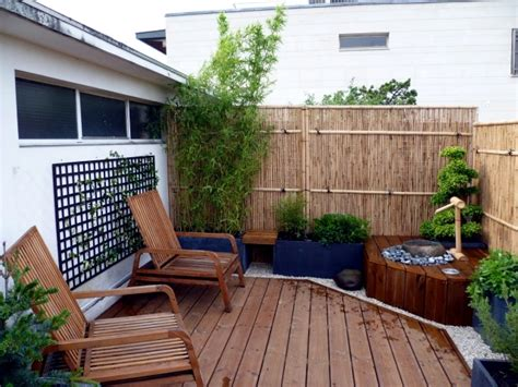 Patio Privacy Screening Ideas Bamboo Balcony Privacy Screen Ideas With Plants Carpets