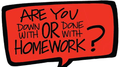 Debate On Homework Is Necessary For Students by Are You With Or Done With Homework Ed Magazine
