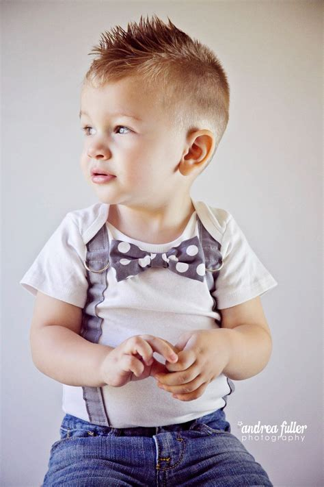 trendy short faux hawk hairstyle  toddler boys love